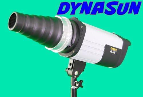 DYNASUN A185 XXL Spotvorsatz Lichttubus Narrow Snoot Studio Konisch Engstrahlreflektor mit Grid//Wabe Wabenaufsatz mit Bowens-Bajonett Anschluss