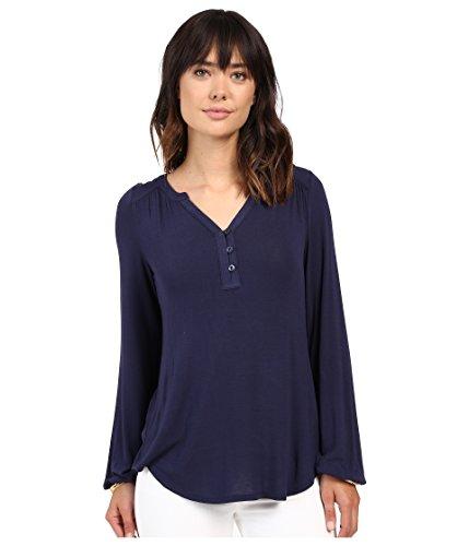 Lilly Pulitzer Women's Lilias Top True Navy Shirt