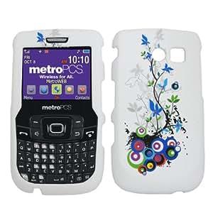 Blue Vine Design Snap-On Cover Case for Samsung Freeform 2 R360