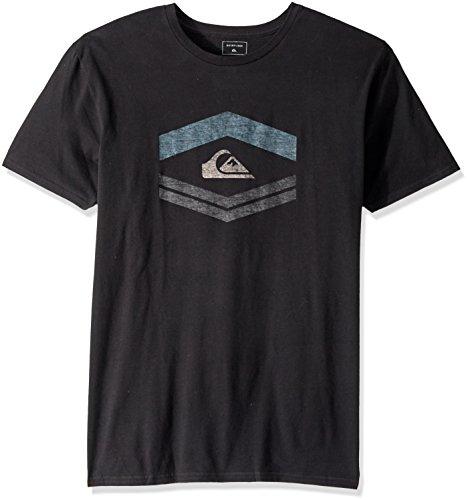 Quiksilver Men's Friendly Fire MOD T-Shirt, Black, - Surfing Fire