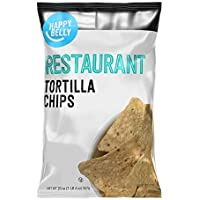 Amazon Brand - Happy Belly Restaurant Tortilla Chips, 20 oz