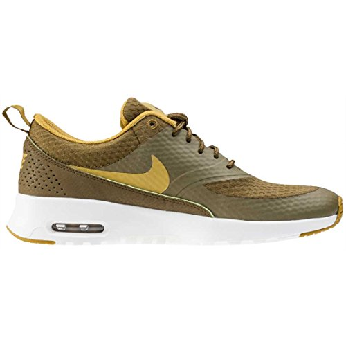 Air Nike TXT Womens Synthetic Thea Olive Trainers Max CC457Wxwn