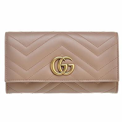 hot sale online 69d79 bbe38 Amazon | GUCCI(グッチ) 財布 ggマーモント レディース GG ...