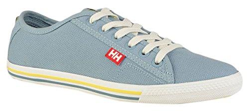 Helly Hansen W Oslofjord Canvas, Zapatillas de Vela para Mujer Azul (Light Blue)