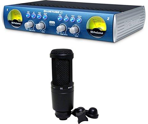 20 Sound Level Meter (Presonus Bluetube DP V2 2 Channel Tube Mic Pre+Audio Technica AT2020)