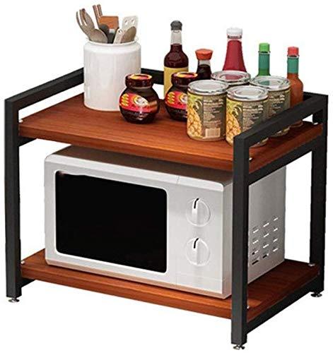 INDIAN DECOR 36700 Durable 2 Tier Wooden Kitchen Storage Rack Cabinet Shelves $31.3 Coupon