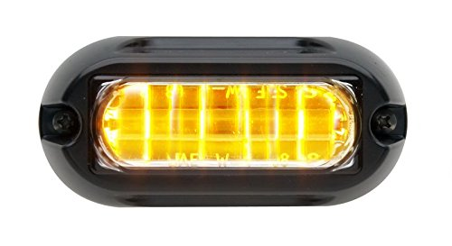 Whelen Engineering LINZ6 Super-LED Lighthead - Amber/Amber