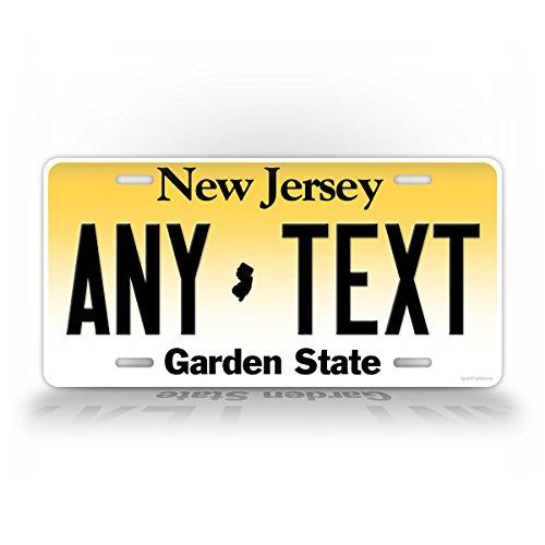 Custom New Jersey License Plate