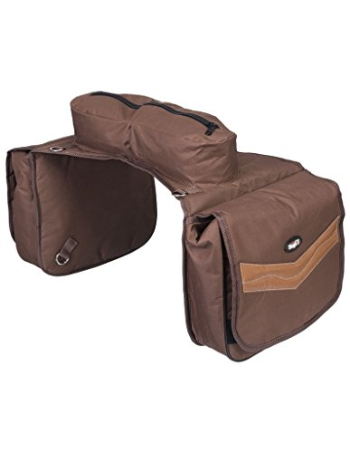 Double-Stitched for Maximum Durability Kensington All Around Thermal Saddle Bags /— Made with PVC Nylon for Waterproof Protection and Insulation to Keep Your Snacks Fresh /— Tear-Resistant