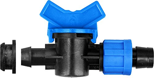 (IrrigationKing RKMV0017L Starter Mini-Valve 16 mm Grommet x 5/8