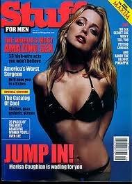Stuff Magazine - The Sex Secret She Won't Tell You - Psycho Shrinks - Amazing Sex - America's Worst Surgeon - Marisa Coughlan on Cover - Petra Nemcova Hot Czech Swimsuit Model (May, 2001)