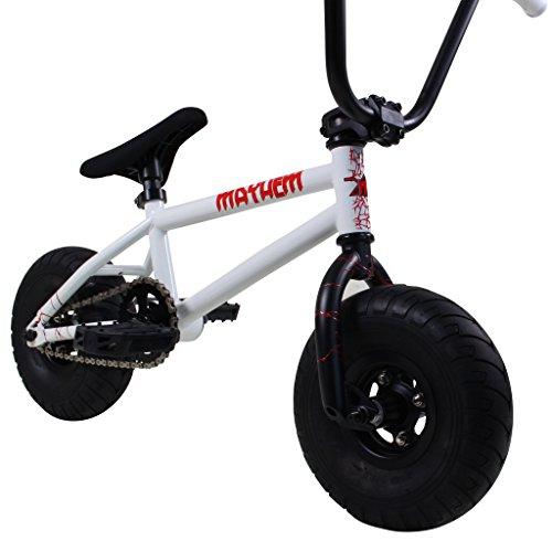 Mayhem Riot Mini BMX Bike (Shocker White/Matte Black)