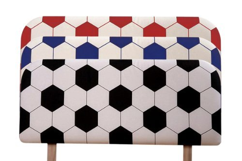 Humz Amani Soccer Headboard with Cotton Fabric, 90 x 5 x 39 cm, Blue by Humz Amani by Humz Amani