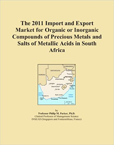 The 2011 Import and Export Market for Organic or Inorganic Compounds of Precious Metals and Salts of Metallic Acids in South Africa
