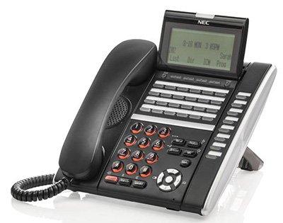 Nec Ip Pbx - NEC ITZ-32D-3(BK) TEL, DT830 IP 32-Button Display Endpoint Black Phone ~ Stock# 660134 Part# Q24-FR000000107281