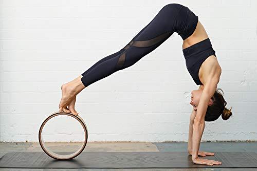 Yogibare Rueda de Yoga - Ayuda de flexibilidad para la práctica de Yoga