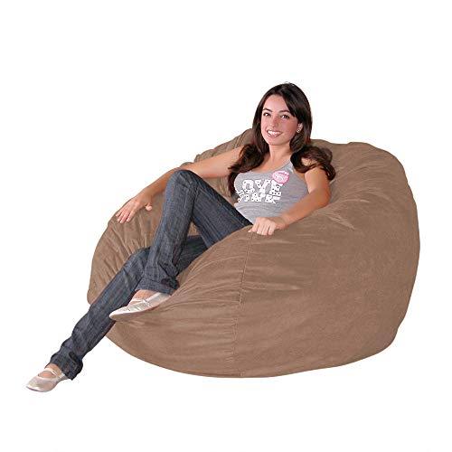 Cozy Sack 3-Feet Bean Bag Chair, Medium, Earth ()