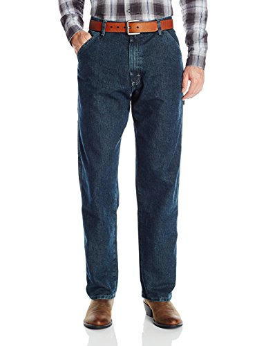 Wrangler Authentics Men's Classic Carpenter Jean, Storm, 32x32 (Mens Underwear Wrangler)