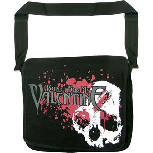 Ill Rock Merch Bullet For My Valentine Skulls Messenger Bag Backpack