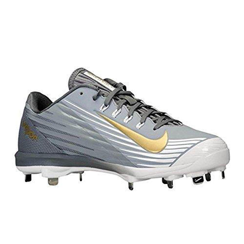 premium selection 6bf22 12b08 Galleon - Nike Men s Lunar Vapor Pro Baseball Cleat,  StealthGraphite Metallic Gold, Size 14M (US)
