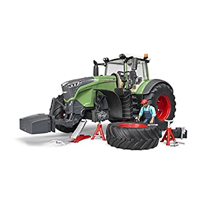 Bruder 04041 Fendt 1050 Vario Tractor with Repair Accessories: Toys & Games