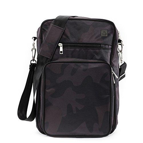Infant Ju-Ju-Be Helix Onyx Collection Messenger Diaper Bag -