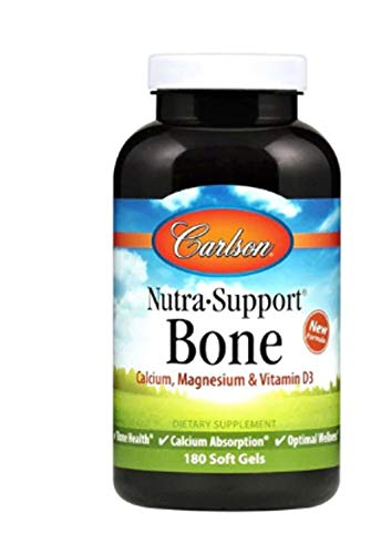 Carlson Labs Nutra-Support Bone Softgels, 180 ()