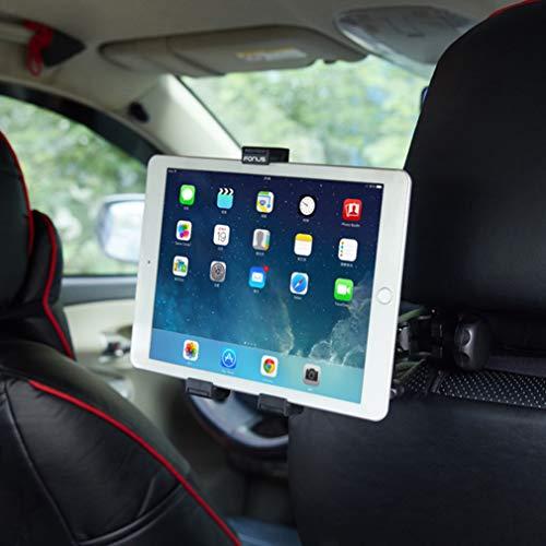 Car Headrest Mount Smartphone Tablet Holder Rotating Cradle Compatible with NABI XD 10.1
