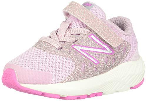 Roadrunner Light - New Balance Girls' Urge V2 FuelCore Running Shoe, Oxygen Pink/Light Carnival, 3 M US Infant