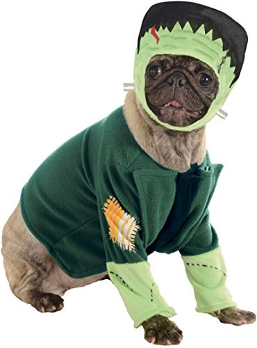 Classic Movie Monsters Pet Costume, Small, Frankenstein -