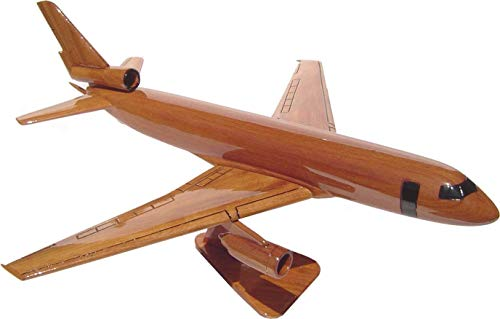 KC10 Extender Mahogany wood airplane desktop model