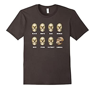8 Skulls of Modern America Funny Shirt