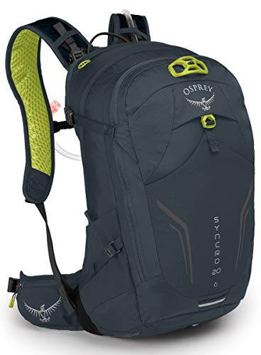 Osprey Packs Syncro 20 Hydration Pack, Wolf Grey]()