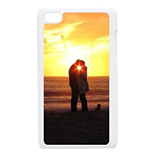 KSDHPNECASE Fashionable Case Of The Kiss,Bumper Plastic Customized Case For Ipod Touch 4 Phone