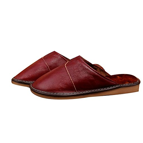 Winter TELLW femme Red Chaussons Wine pour tqxwzgYf