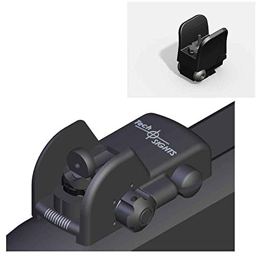 Tech Sight's TSR200RL Adjustable Aperture Sight for the Ruger 10/22 Rifle with a 3/8