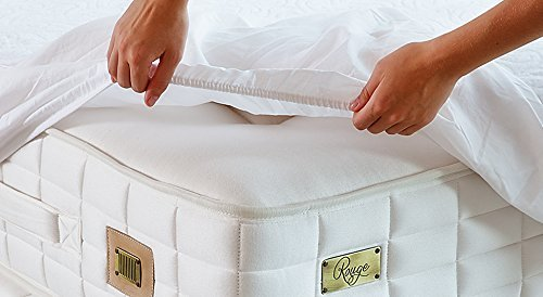 Mybecca Full Size Mattress Protector 100% Waterproof Hypoallergenic, Dust Mite Protection, Breathable and Machine Washable