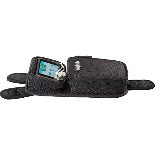 Cortech Micro 2.0 Motorcycle Tank Bag, Black - Black / 6