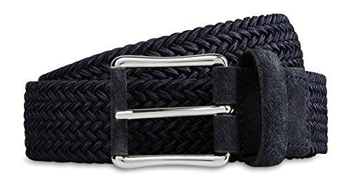 Ermenegildo Zegna Men'S Weave Belt, Gray, used for sale  Delivered anywhere in USA