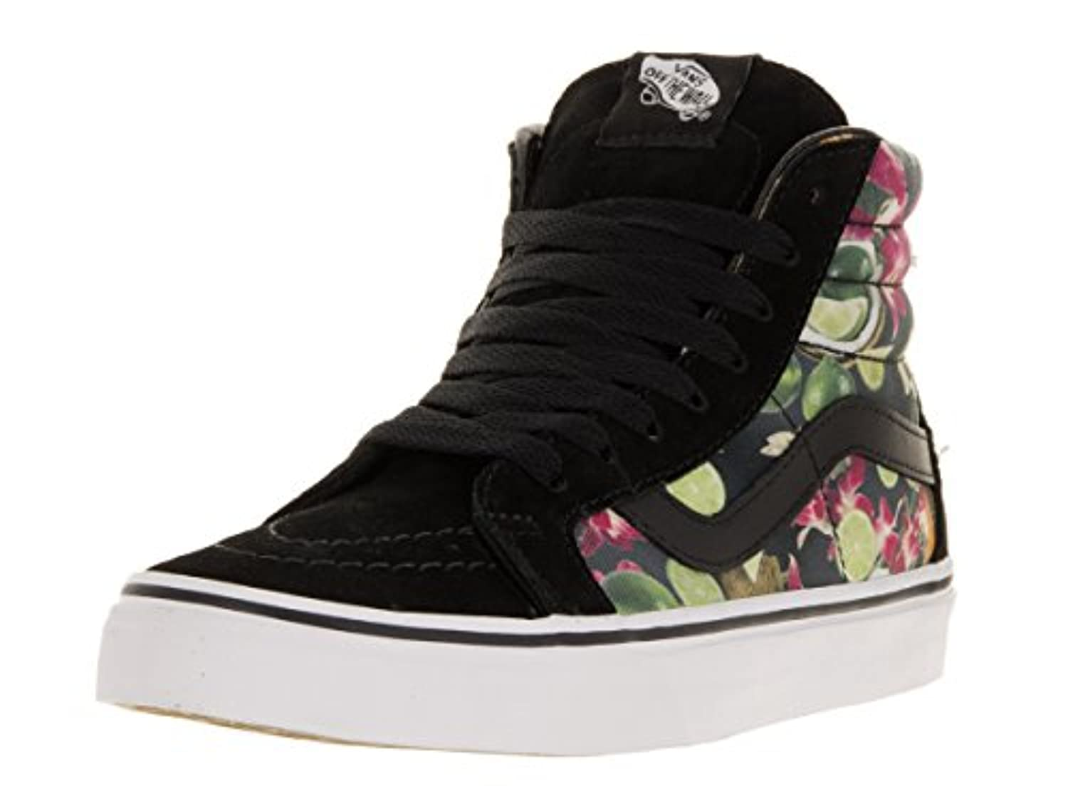 Vans Unisex Adults' SK8 Reissue Hi-Top Sneakers, Blue (Wool and Leather Parisian Night/Tortoise Shell), 3 UK