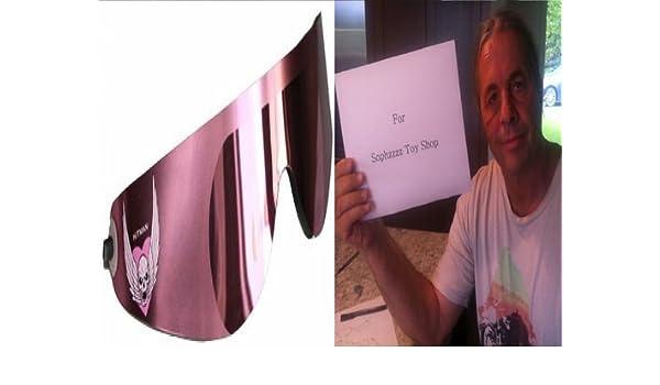 65876b26b02 Amazon.com  SOPHZZZZ TOY SHOP Bret The Hitman Hart - Official Wrap Around  Shades  Toys   Games