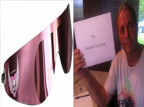 SOPHZZZZ TOY SHOP Bret The Hitman Hart - Official Wrap Around Shades