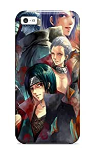 diy caseAnd Shatterproof Awesome Akatsuki Naruto Shippuuden Phone Case For iPhone 6 plus 5.5/ High Quality Tpu Case