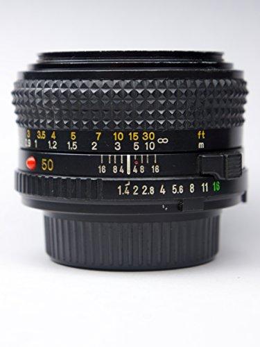 Minolta MD 50mm f/1.4 Prime Lens For Minolta Sony Olympus 4/3 (Minolta Adapter)