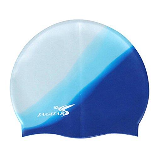 Bonnet de bain Professional étanche Cheveux/Ear Protection Swim Cap NO.06
