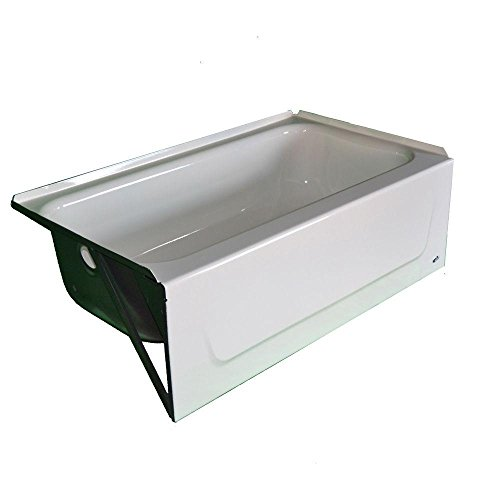 BOOTZ 011-2303-00 Kona 4-1/2' Left-Hand Drain Soaking Tub...