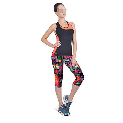 Leggings Women Fitness Casual Pants Brand Girl Fitness Printed Stretch Top# 3546,Multicolor 1,L (Iron On Knee Patches For Snow Pants)
