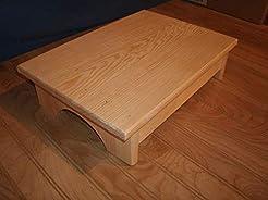 Handmade wooden stool, step stool, 4