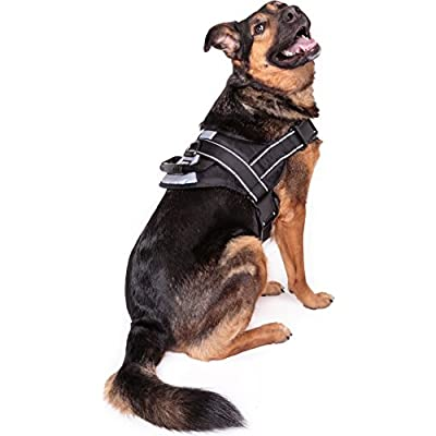 Friends Forever Big Dog Reflective No Pull harness with handle Large Size