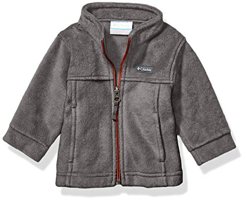 Columbia Boys' Steens Mt II Fleece Jacket, grill, 3/6 (Newborn Boy Jacket)